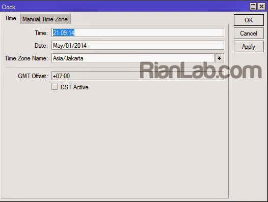Automatic Sync Mikrotik Clock