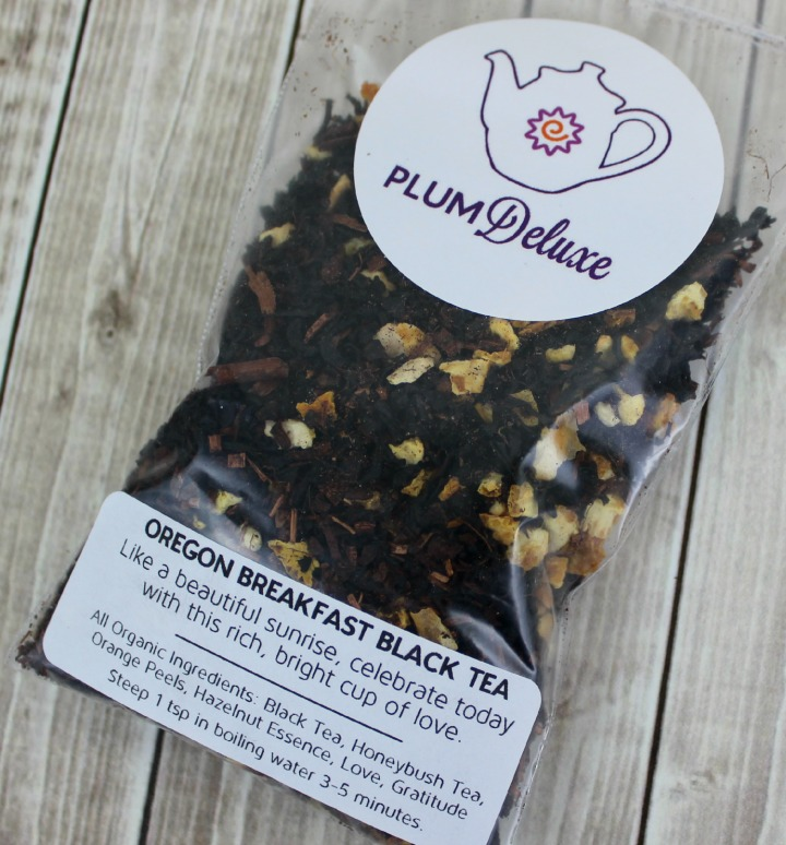 Plum Deluxe Tea Oregon Breakfast Black Tea