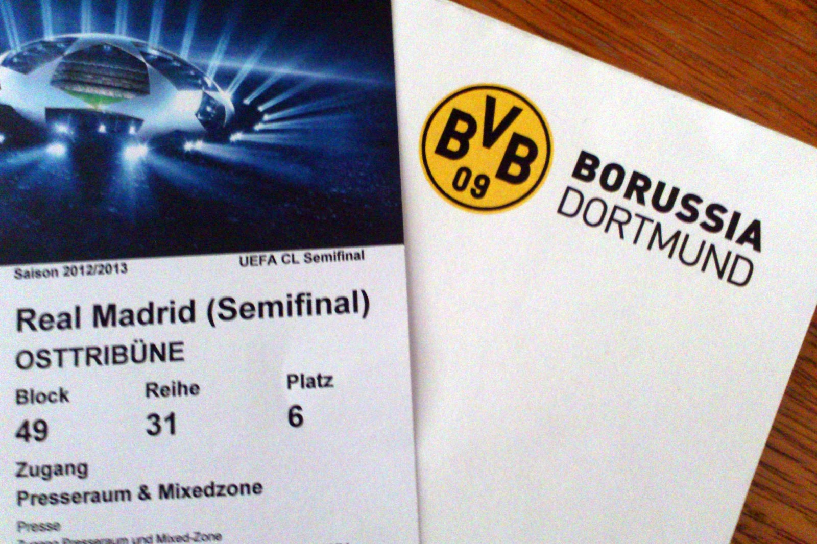 tickets dortmund real madrid