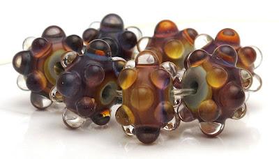 FSHP Terra lampwork glass beads