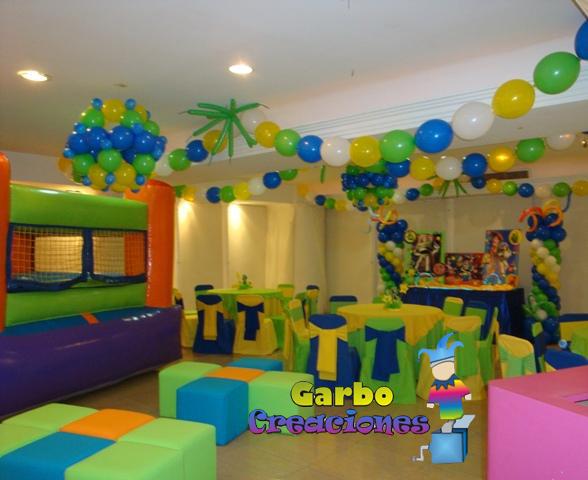 Decoraciónes de globos Pocoyo - Imagui