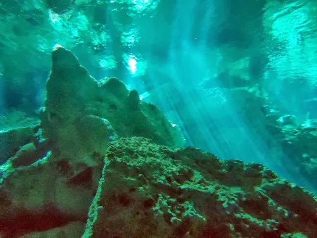 Mexcio. Cenote Dos Ojos. Javier Girón