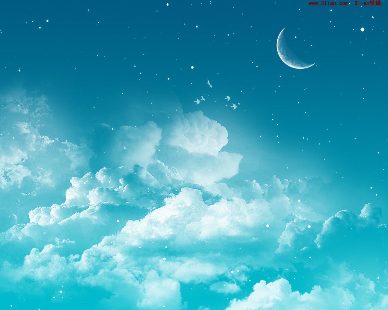 晴朗好天氣 滿天星斗 雨後彩虹 感性黃昏