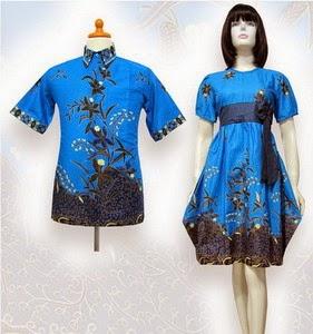 Model Baju Batik Couple modis dan terbaru