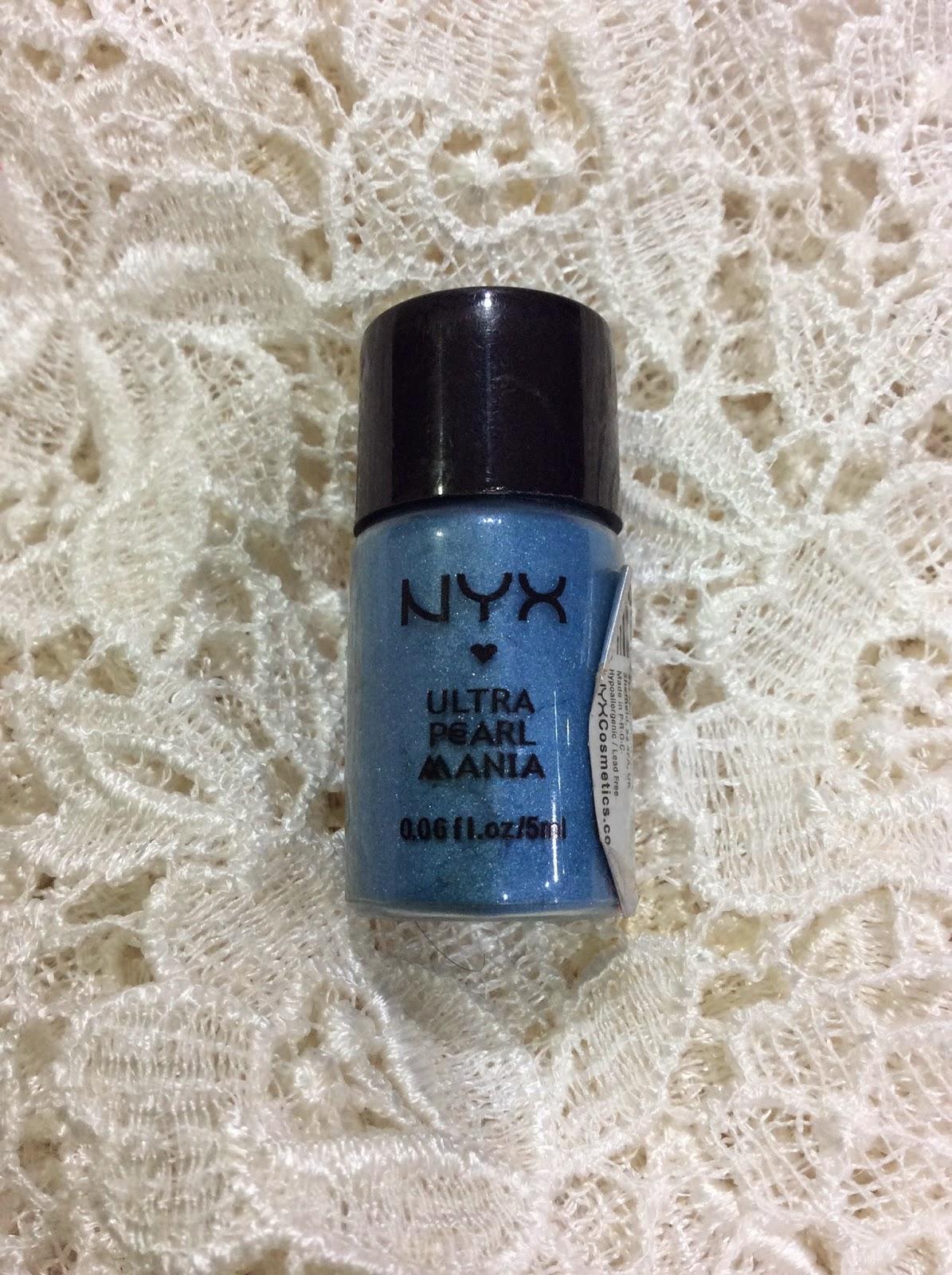 Blog Sale - NYX Pearl Mania in Ocean Blue Pearl