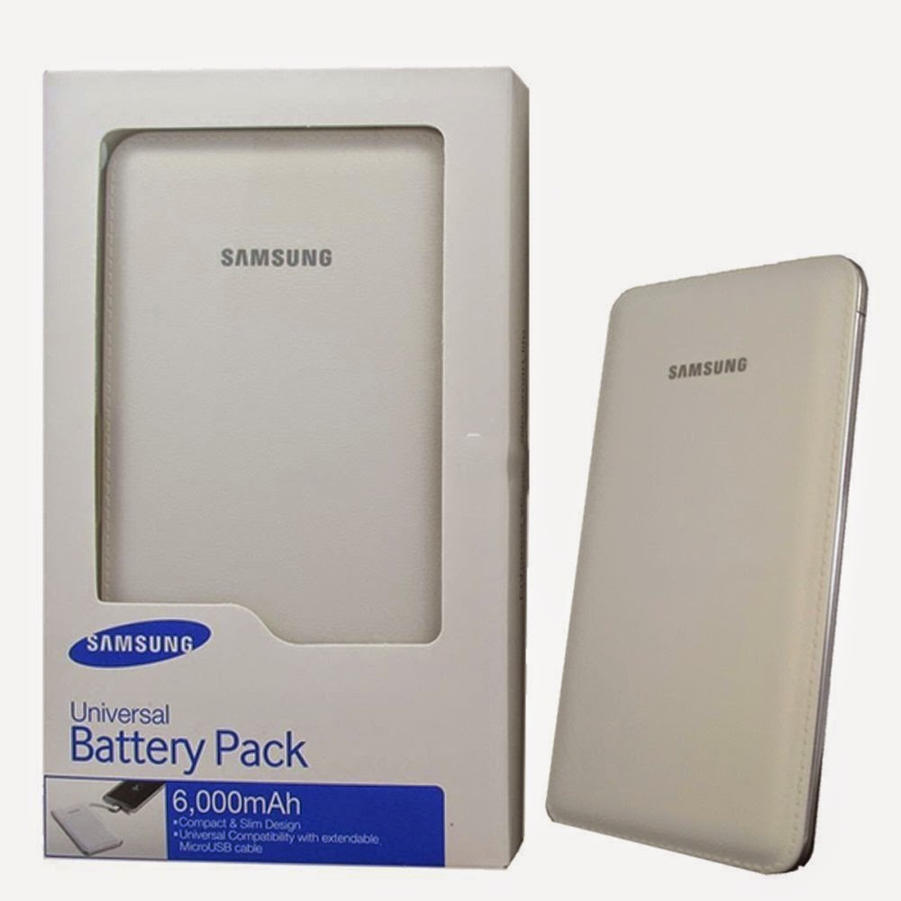 Amazon: Buy Samsung EB-PG900BWEGIN External Power Bank 6000mAH at Rs.2699
