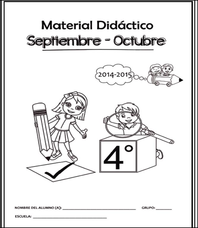 Cuadernillo de Apoyo Didáctico para Cuarto Grado 2014 - 2015
