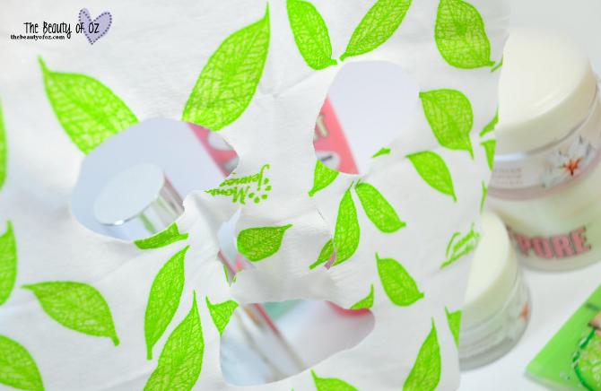 Review Montagne Jeunesse Tuchmaske mit Teebaumöl