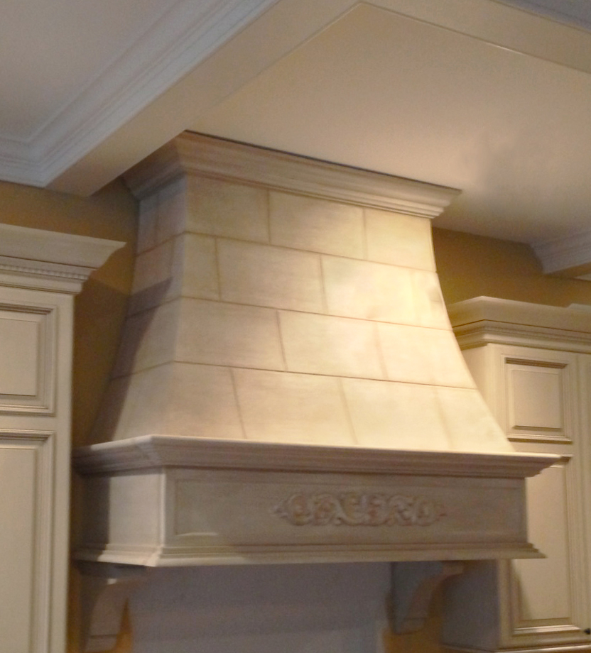 Stone Range Hoods ~ Kitchen hoods stone cast limestone marble travertine