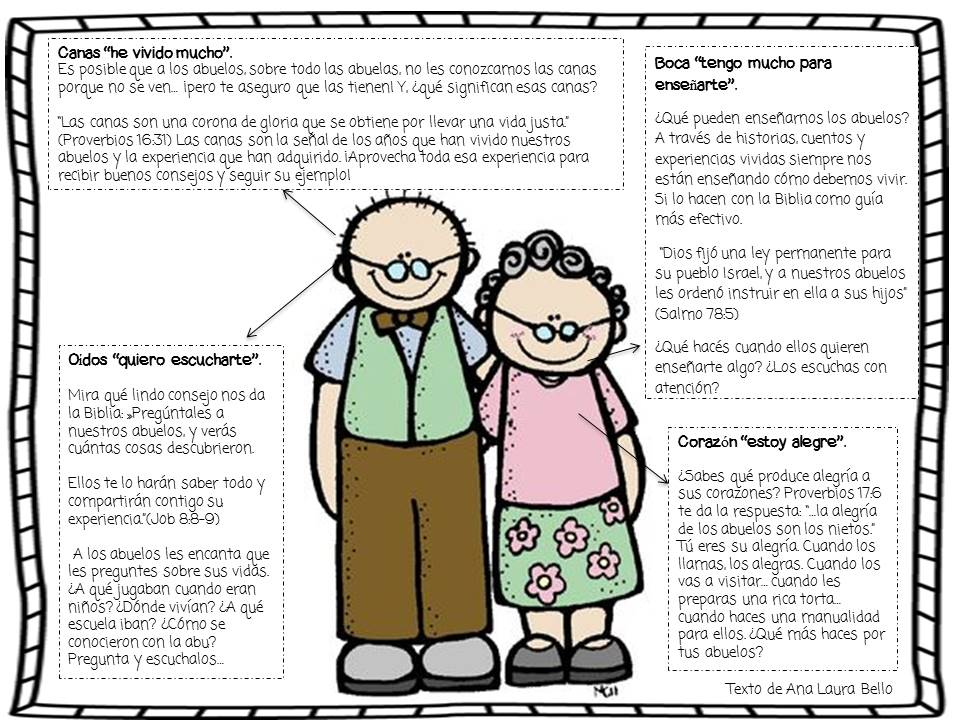 Una Aventura 3D: Anatomía de los abuelos