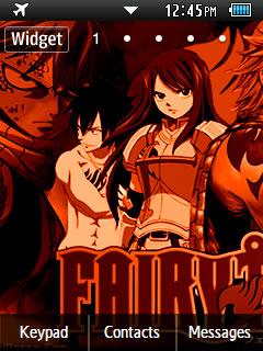 Anime Fairy Tail 005 Samsung Corby 2 Theme 2 Wallpaper