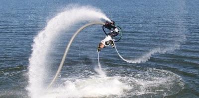 FlyBoard - Nouveau sport aquatique impressionnant