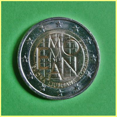 2 Euros Eslovenia 2015 Emona