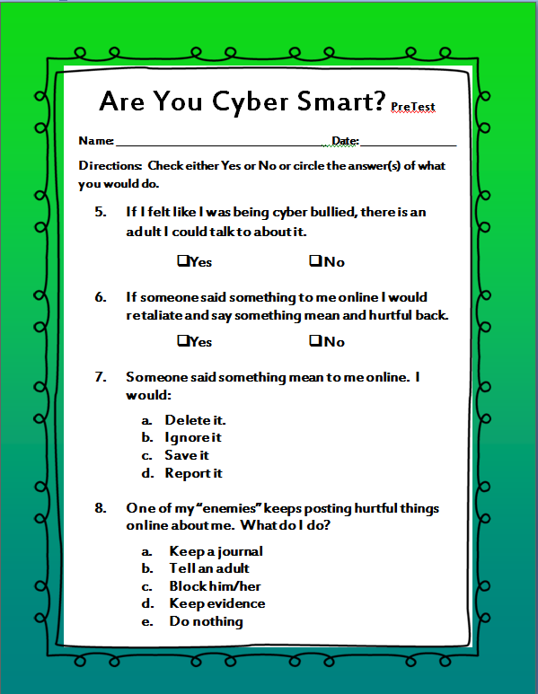 Printables Internet Safety Worksheets internet safety worksheet syndeomedia the middle school counselor cyber smarts worksheets online safety