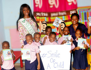 "TNQ 2015, Queen Tender completes ""SMILE OF A CHILD"" Project"
