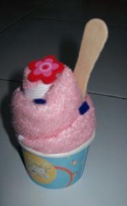 towel ice cream