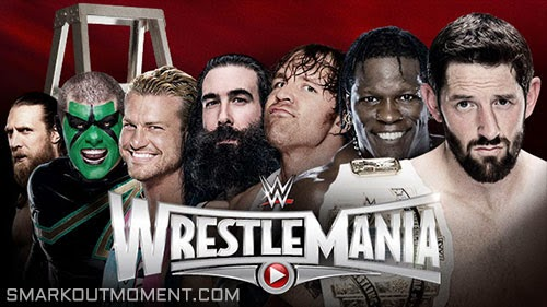 WWE WrestleMania 2015 Ladder Match IC Title WrestleMania XXXI 31