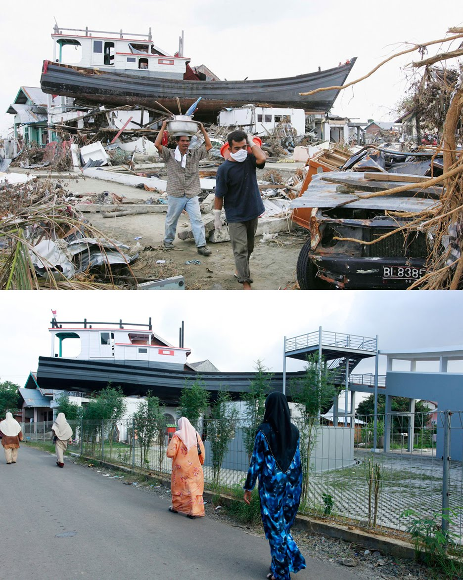 Rebuilding Cities After Natural Disasters