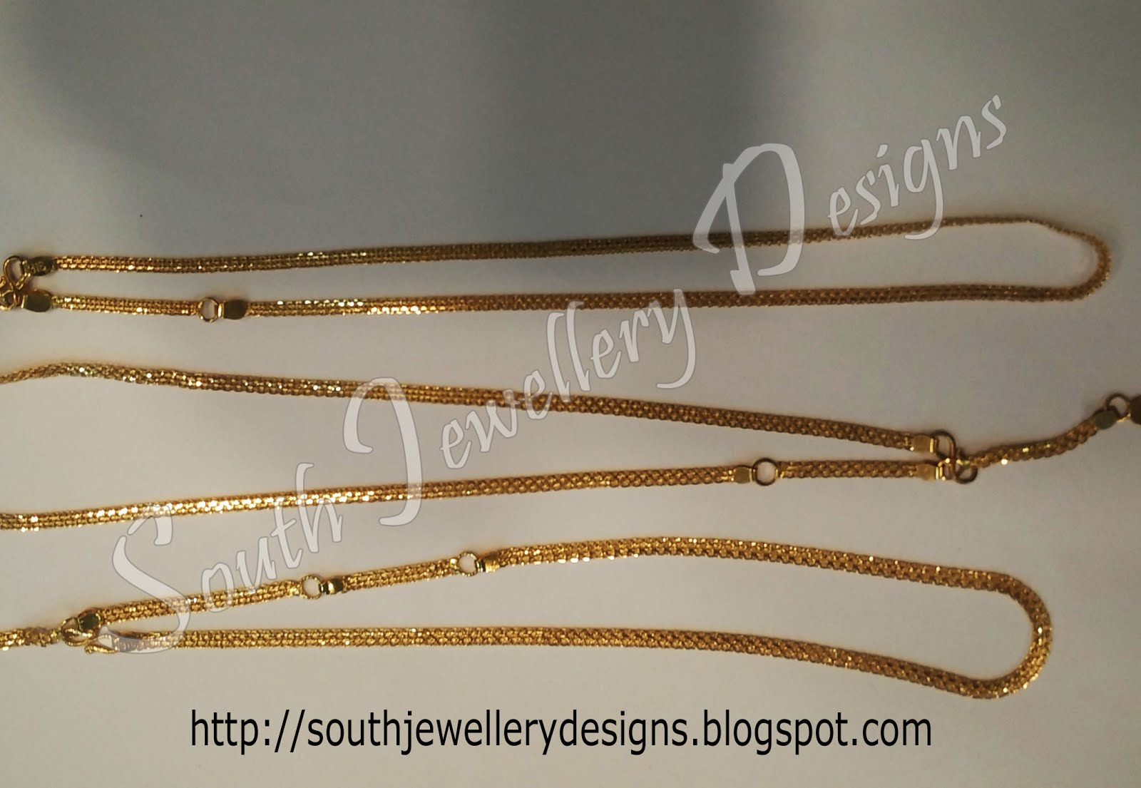 South Jewellery Designs Baby chain Collections South jewellery