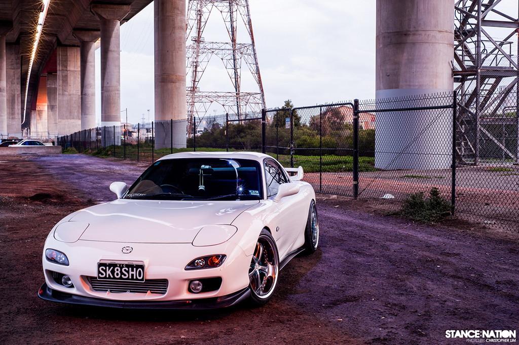 Mazda RX-7 FD, znany samochód, kultowy, z duszą, JDM, tuning, zdjęcia