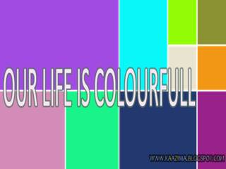 Colourfull life