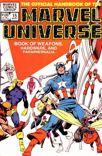 Official Handbook Marvel Universe vol.1 Issue.15