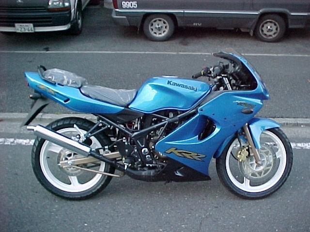 Bikes World Kawasaki Ninja Krr Zx150