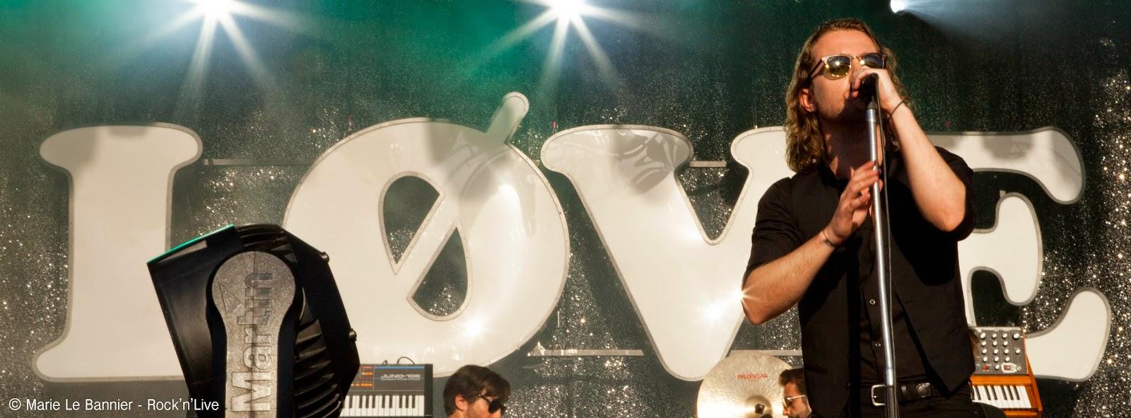 Julien Doré Festival Fnac Live Paris Rock'n'Live 2014 Live Concert Marie Le Bannier Love Paris-Seychelles Les Limites
