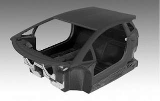 Lamborghini LP700-4 Carbon Fiber Monocoque