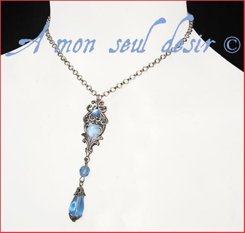 collier médiéval elfique renaissance féerique medieval elven necklace