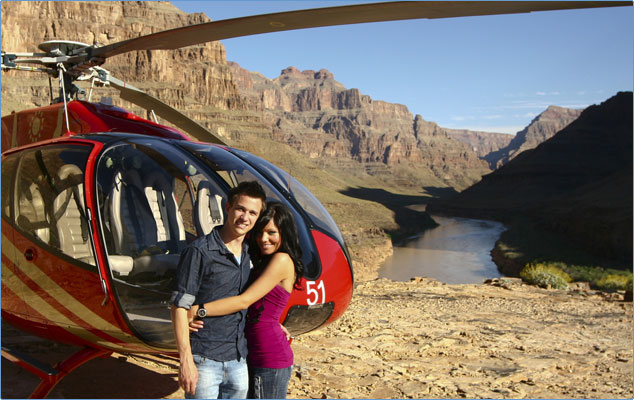 Las Vegas Helicopters Fly To The Grand Canyon National Park