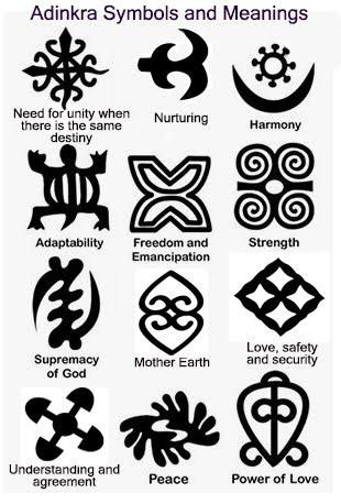 African symbols of freedom