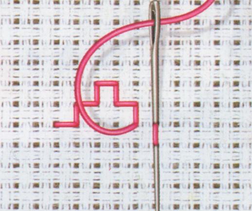 Donna: Come si esegue il punto scritto nel ricamo a punto croce: popcorntimeforandroid.com/manual/come-si-fa-il-punto-croce