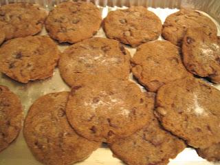 Cinnamon Espresso Chocolate Chip Cookies - Vegan Veega