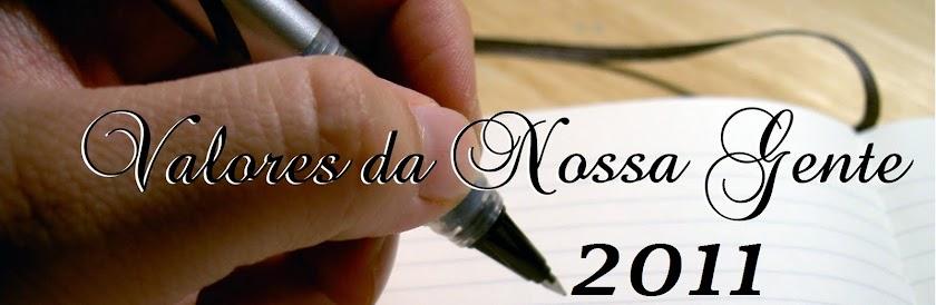 VALORES DA NOSSA GENTE