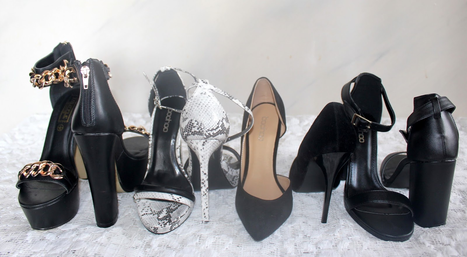 Shoe Haul - Boohoo (Black)