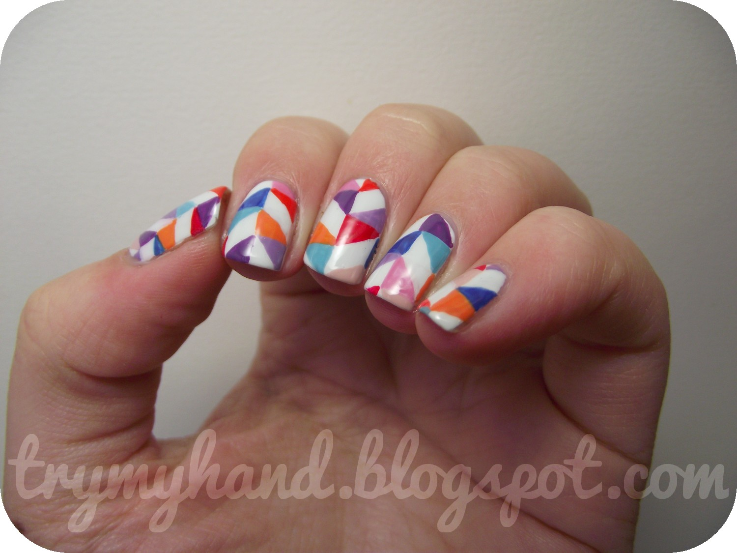 Alphabet Nail Art Challenge Q For Quilt