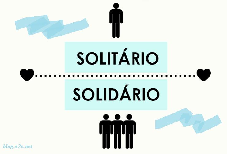 Solidário X Voluntário