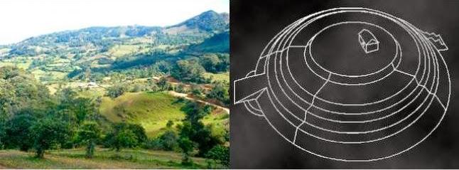 circular - Hallan una pirámide circular en la amazonía de Bolivia