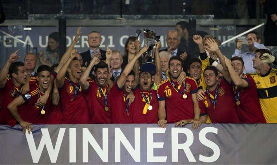 Selección Española de Fútbol Sub-21 campeona de Europa 2013
