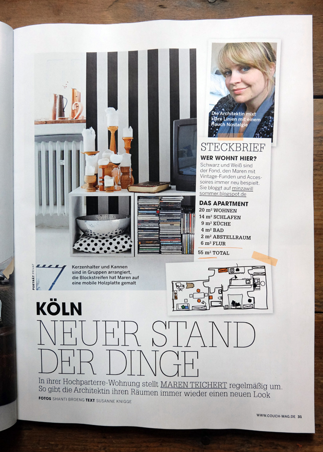 minza will sommer magazin couch 2014. Black Bedroom Furniture Sets. Home Design Ideas