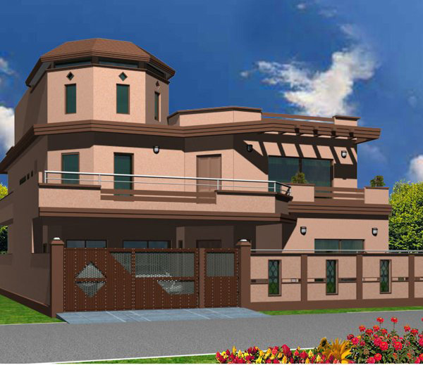 3d Front India Pakistan House Design 3d
