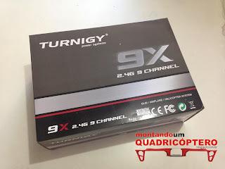 Controle Remoto Turnigy 9X 9 Ch - 2.4 G