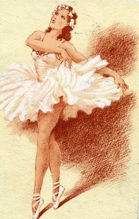 Картинки с балериной для открыток 381