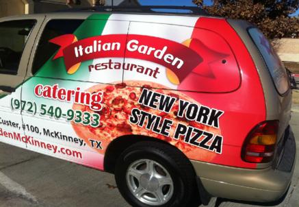 Italian Garden is on the Frisco/McKinney Border