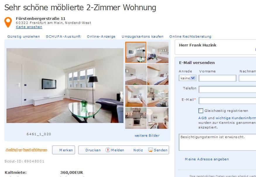 Wohnungsbetrug Blogspot Com Nicolebrathaut Gmail Com