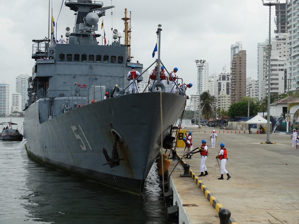 Fragata ARC Almirante Padilla Armada Colombia