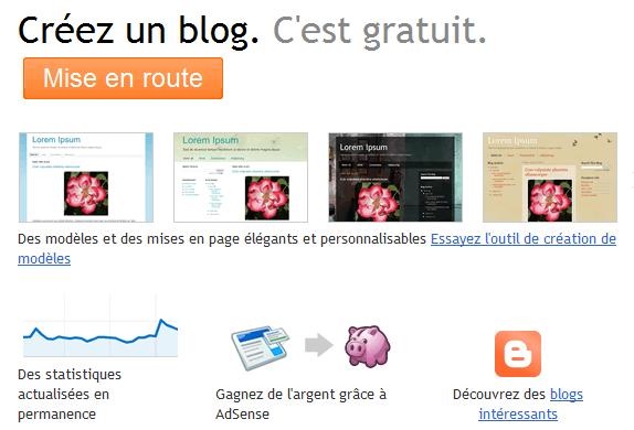 Connectez-vous pour accéder à Blogger