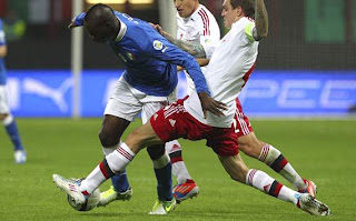 Italia kembali meraih hasil positif  bermain melawan Denmark