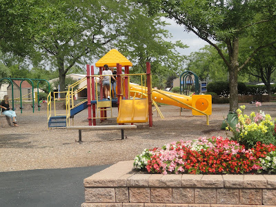 Waren Township Center Playground tot area